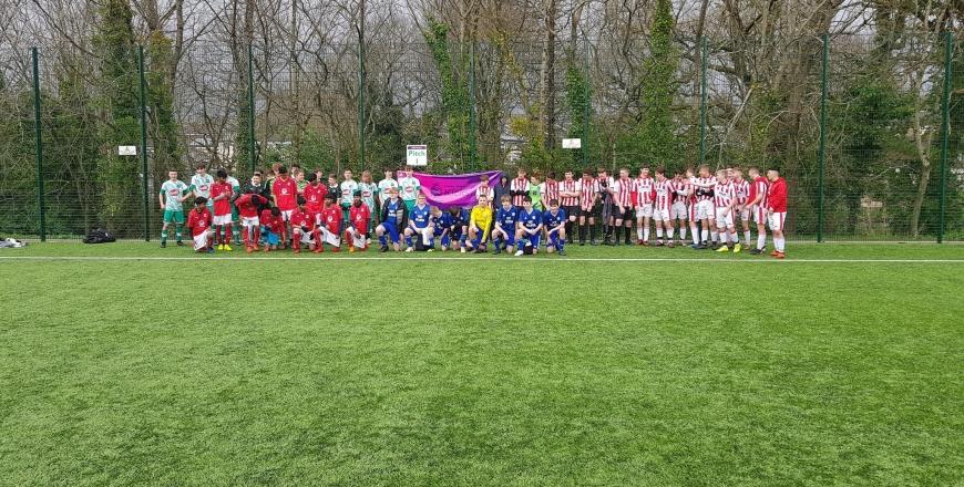 group of players for PL Kicks 2020